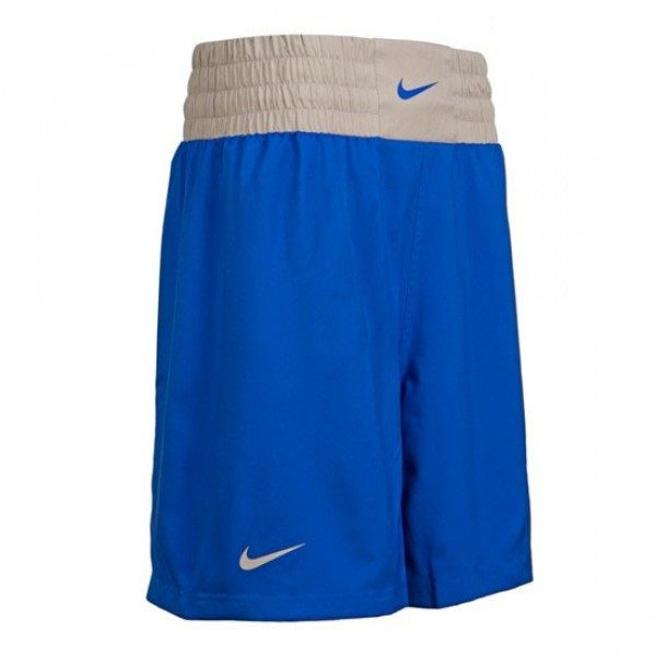 NIKE COMPETITION BOXING SHORT BLUE