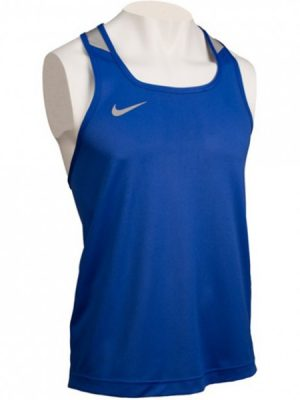 NIKE COMPETITION BOXING TANK BLUE