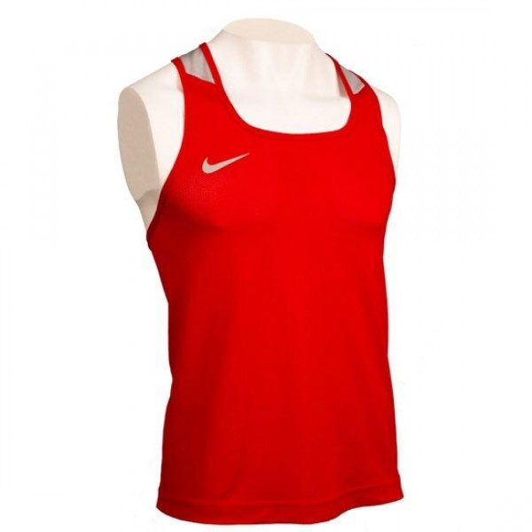 NIKE COMPETITION BOXING TANK RED