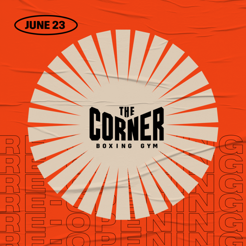 BREAKING NEWS / THE CORNER RE-OPENING!