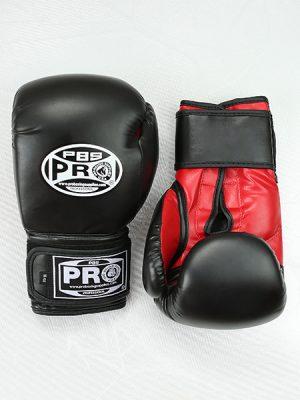 Перчатки Pro Boxing - Чёрные